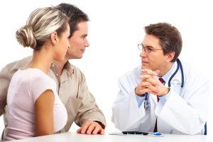консультация будущих родителей с врачом