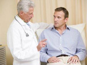 посещение врача мужчиной при подготовке к зачатию
