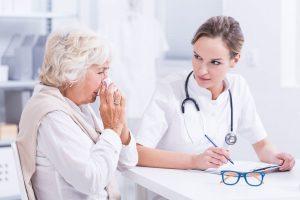 прием у врача при аллергии