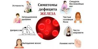 причины низкого ферритина