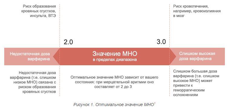 значения МНО в анализе крови