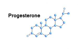 формула прогестерона