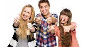 фтография молодых людей